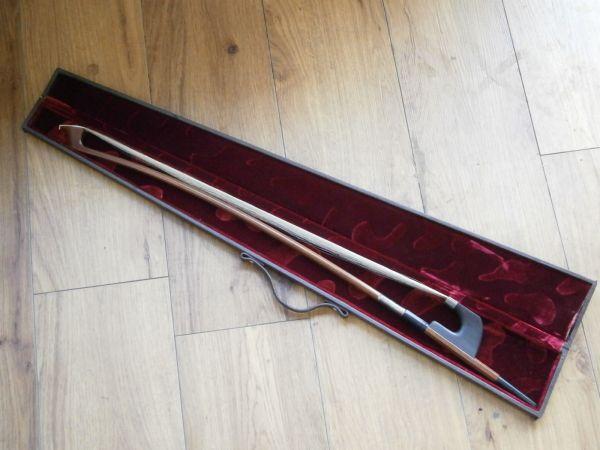 TAKASU製 コントラバス弓 を買取しました‼