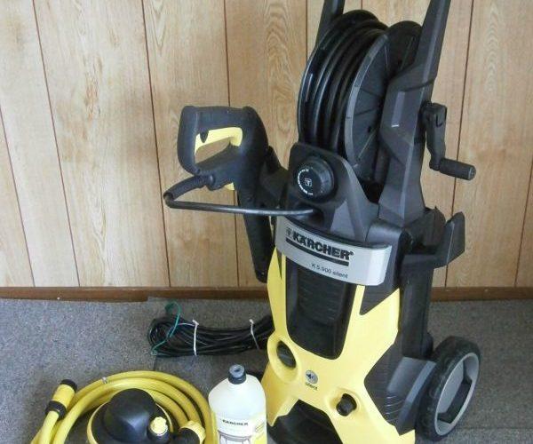 家庭用高圧洗浄機ケルヒャー K5.900買取しました。
