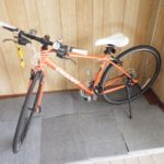 自転車を買取りました。